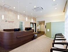 かわたに歯科医院 設備紹介 待合室