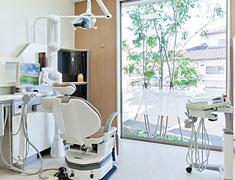 かわたに歯科医院 設備紹介 診療室